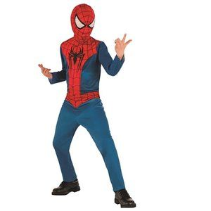 Child Spider-Man Basic Costume Size Large 10/12